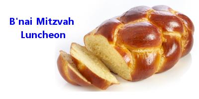 Bnai Mitzvah Luncheon